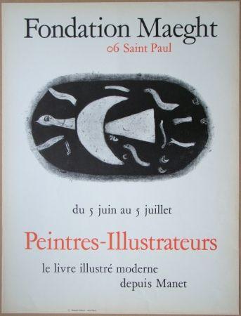 Litografia Braque - Fondation Maeght
