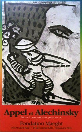 Manifesti Alechinsky - '' Fondation MAEGHT '' - Avec Karel APPEL