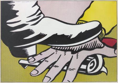 Litografia Lichtenstein - FOOT AND HAND