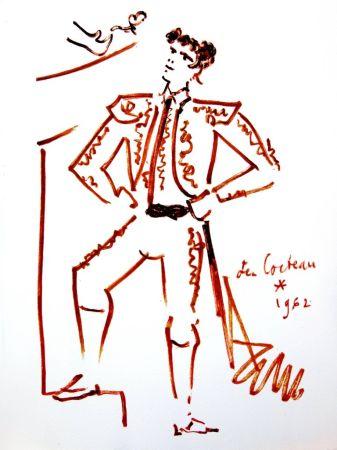 Litografia Cocteau - Force