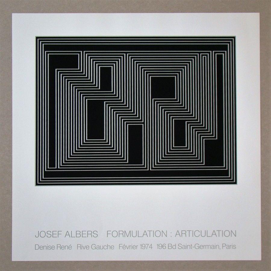 Serigrafia Albers - Formulation : Articulation