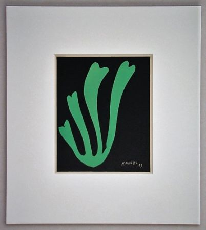 Litografia Matisse - Fougère - 1953