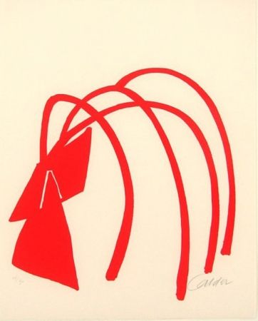 Litografia Calder - Four Arches