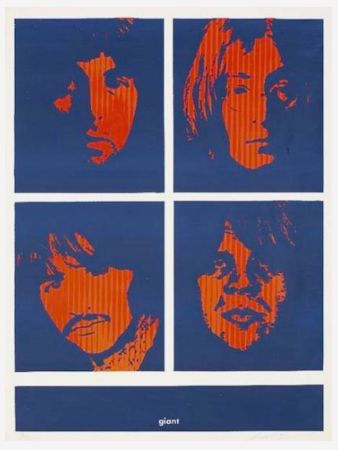 Serigrafia Fairey - Four Giant Beatles