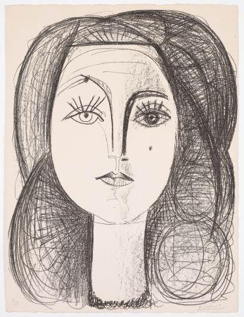 Litografia Picasso - Françoise 1946
