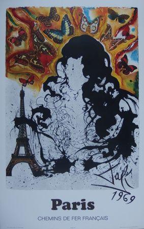 Incisione Dali - France : Paris (Sncf)
