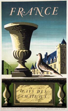 Litografia Picard Ledoux - France Pays de Chateaux