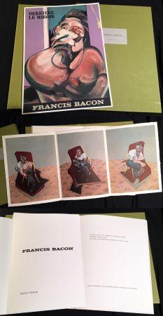 Libro Illustrato Bacon - FRANCIS BACON : DERRIÈRE LE MIROIR N° 162 (1966). TIRAGE DE LUXE SUR RIVES.