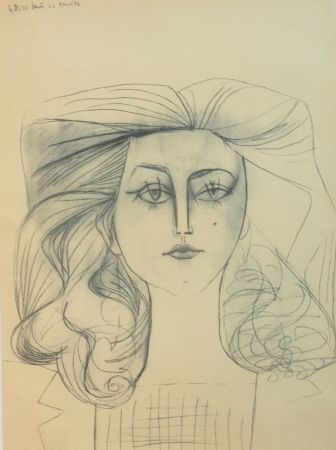 Litografia Picasso - Francoise Gilot