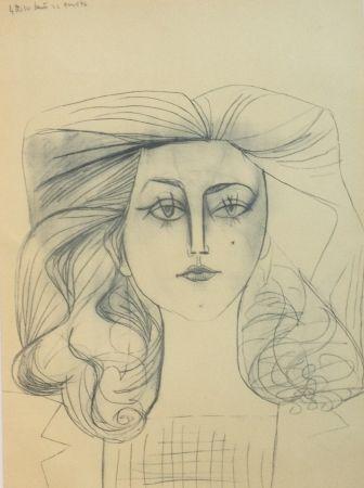 Litografia Picasso - Francoise Gilot 1