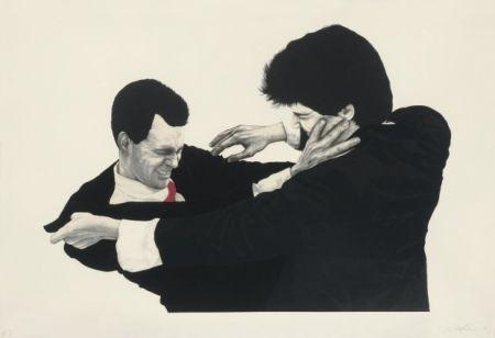 Litografia Longo - Frank and Glen