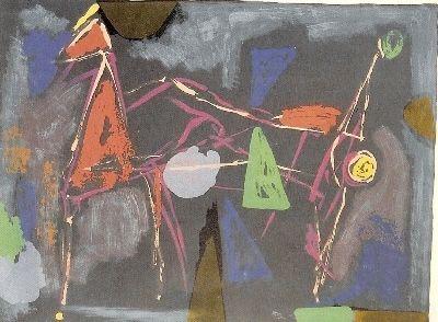Litografia Marini - From colour to form IV