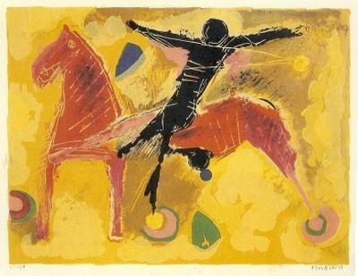 Litografia Marini - From Colour to Form, Plate V