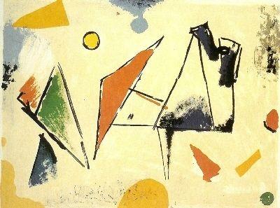 Litografia Marini - From colour to form VIII