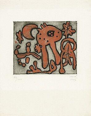 Acquaforte E Acquatinta Miró - From