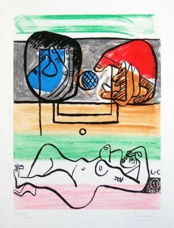 Acquaforte E Acquatinta Le Corbusier - From Unite Suite #11a