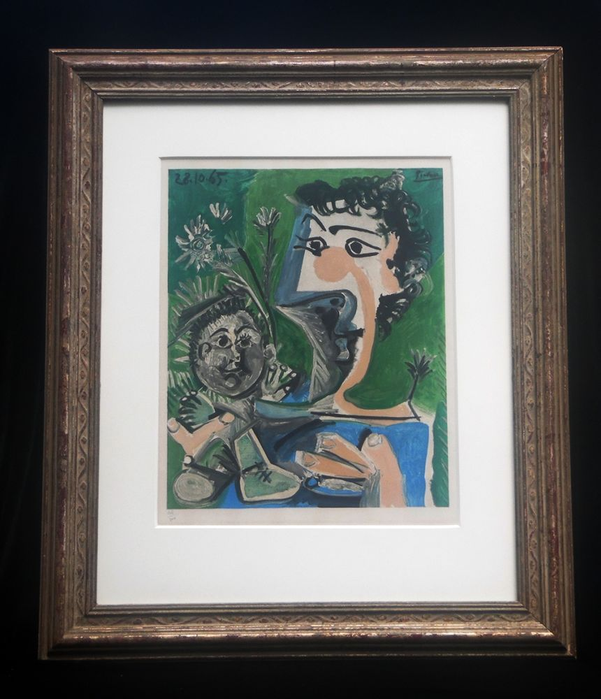 Litografia Picasso (After) - Fronciuse and Cloude
