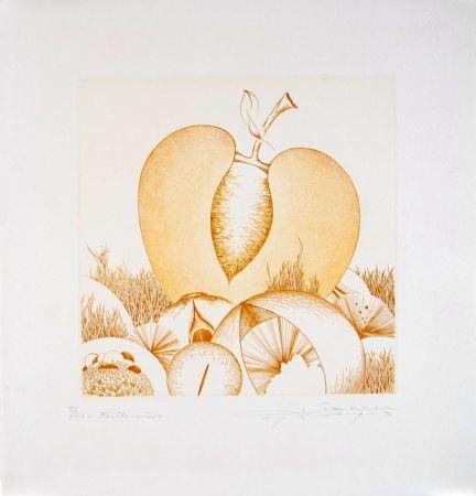 Acquaforte E Acquatinta Pierron - Fruits Mûrs