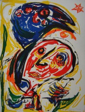 Litografia Pedersen - Fugl Føniks