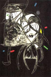 Incisione Miró - Fundatio Palma