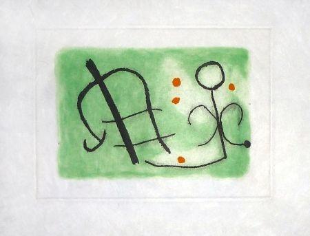 Incisione Miró - Fusées