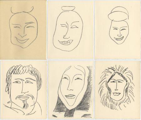 Libro Illustrato Matisse - G. Duthuit : UNE FÊTE EN CIMMÉRIE (ex. avec suite) Tériade, 1963