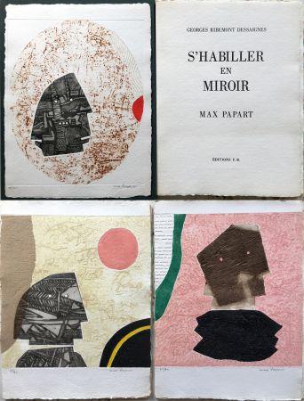 Acquaforte E Acquatinta Papart - G. Ribemont Dessaignes : S'HABILLER EN MIROIR (1977).