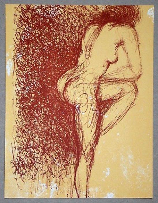 Litografia Dali - Gala