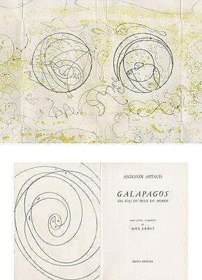 Libro Illustrato Ernst - Galapagos - Les îles du bout du monde