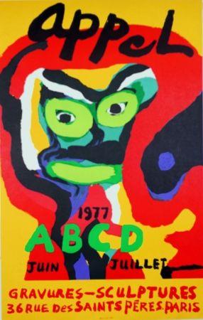 Litografia Appel - Galerie ABCD