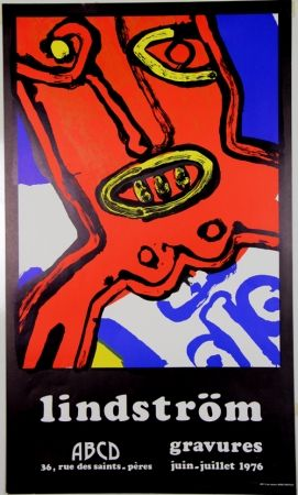 Litografia Lindstrom - Galerie ABCD