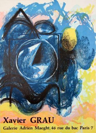 Litografia Grau - Galerie Adrien Maeght