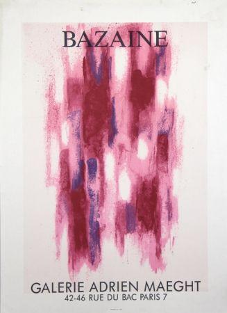 Litografia Bazaine - Galerie Adrien Maeght