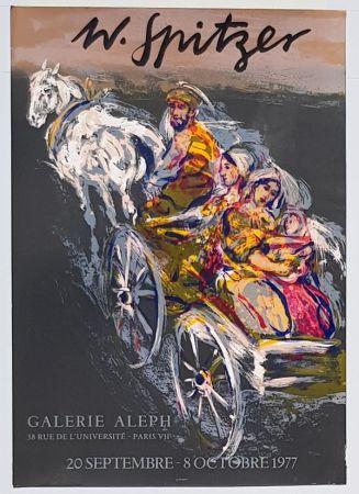 Litografia Spitzer - Galerie Alep
