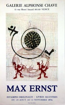 Litografia Ernst - Galerie Alphonse Chave