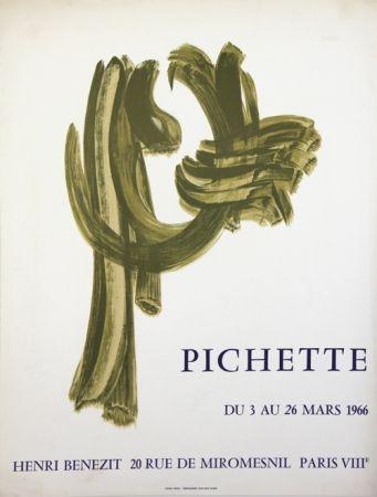 Litografia Pichette  - Galerie André Benezit