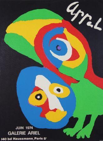 Litografia Appel - Galerie Ariel