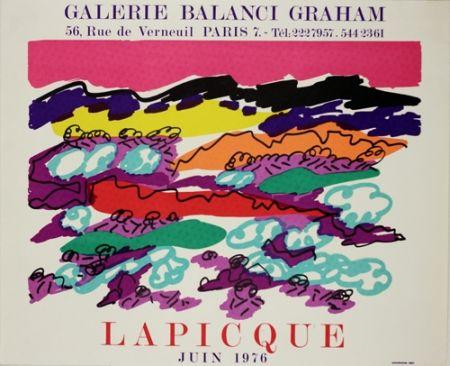 Litografia Lapicque - Galerie Balanci Grahan