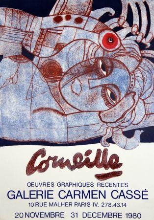 Litografia Corneille - Galerie Carmen Casse