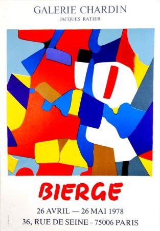 Serigrafia Bierge - Galerie Chardin