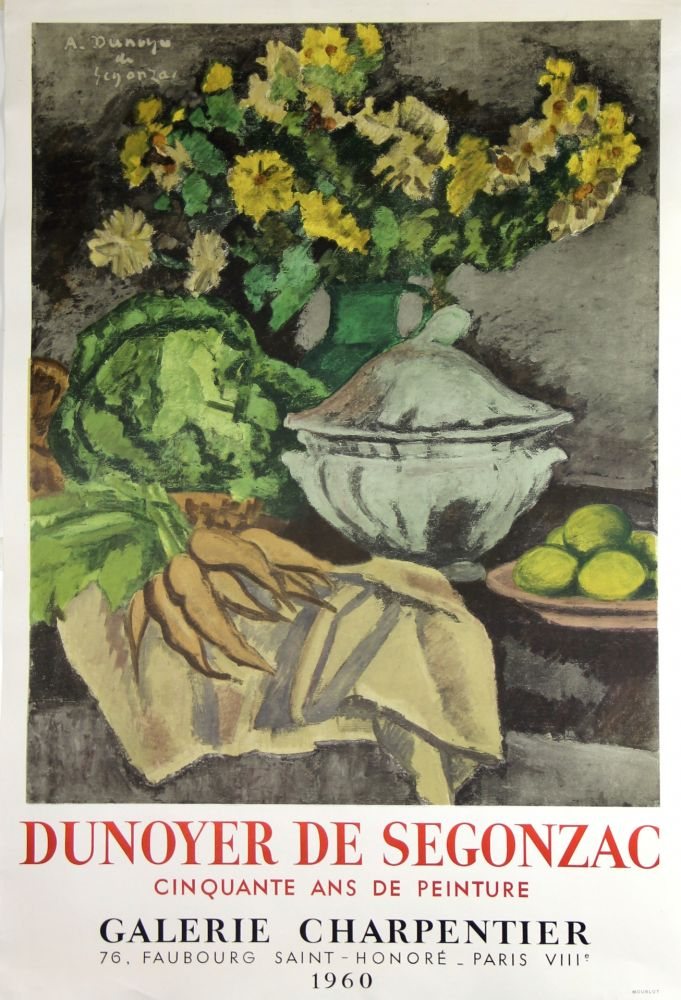 Litografia De Segonzac - Galerie Charpentier