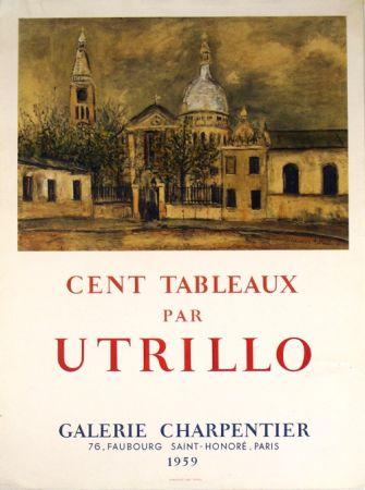 Litografia Utrillo - Galerie Charpentier