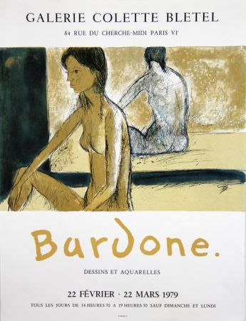 Litografia Bardone - Galerie Colette Bletel