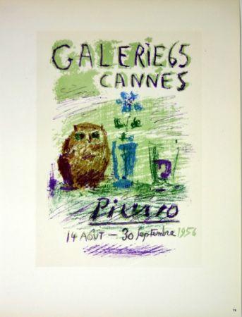 Litografia Picasso (After) - Galerie de Cannes