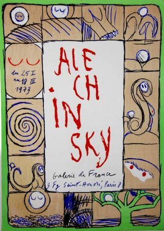 Litografia Alechinsky - Galerie de France
