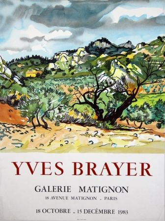 Litografia Brayer - Galerie de Matignon