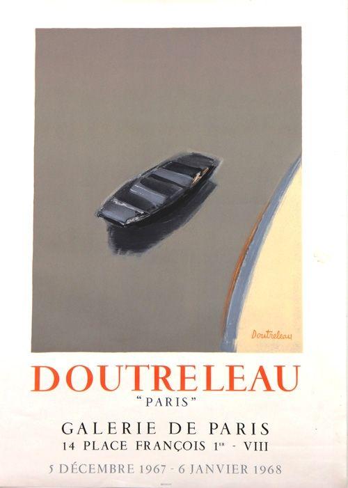 Litografia Doutreleau - Galerie de Paris