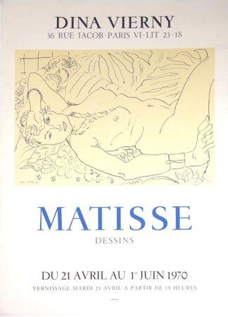 Litografia Matisse - Galerie Dina Vierny