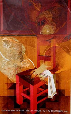 Litografia Alvar - Galerie Drouant