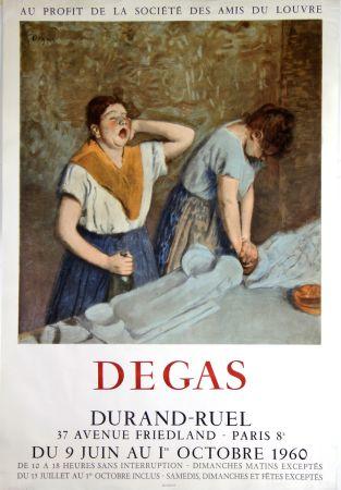 Litografia Degas - Galerie Durand -Ruel